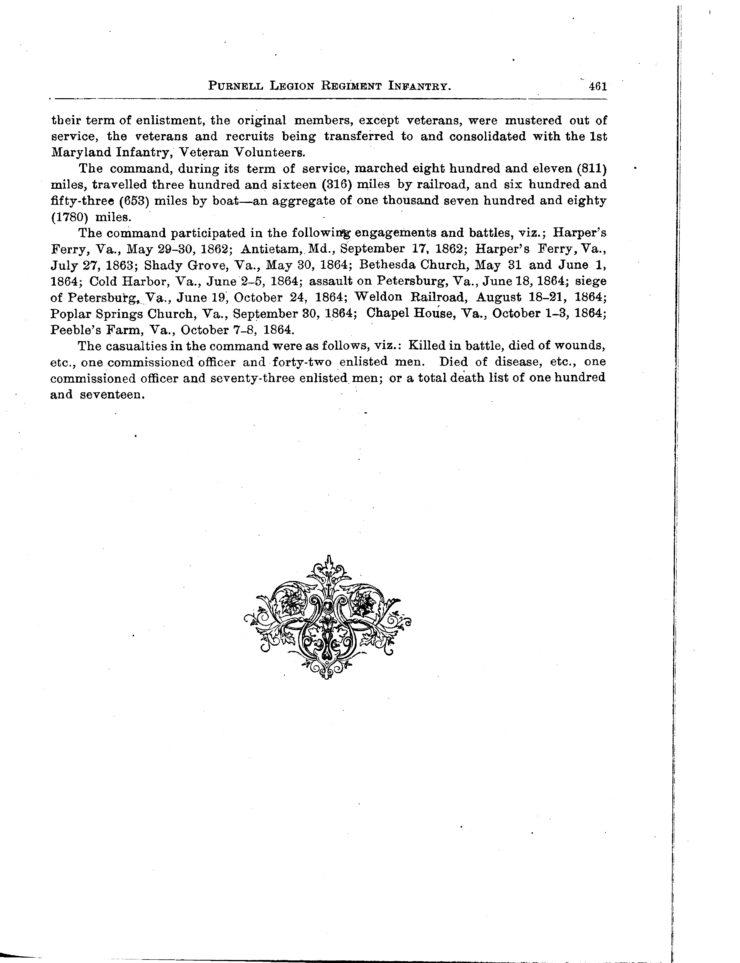 Page 3 Of History And Roster Of Maryland Volunteers, War Of 1861-5